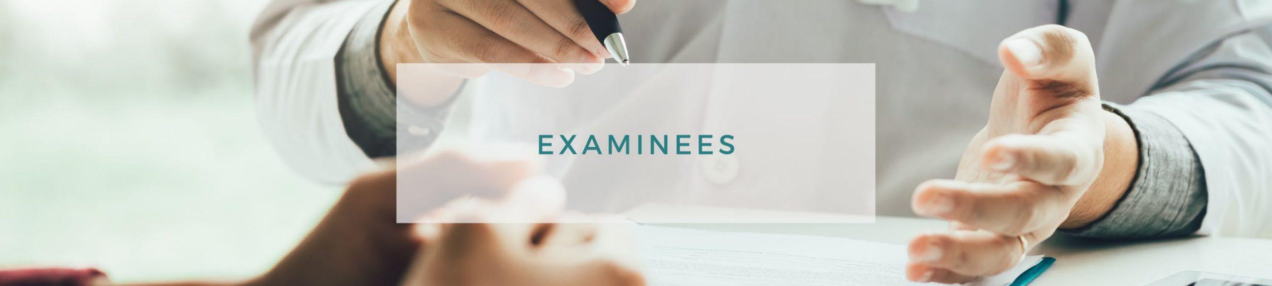 examinees